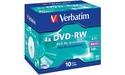 Verbatim DVD-RW 4x 10pk Jewel case
