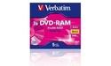 Verbatim DVD-RAM Double Sided 3x 5pk Jewel case