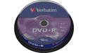Verbatim DVD+R 16x 10pk Spindle