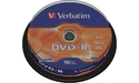 Verbatim DVD-R 16x 10pk Spindle