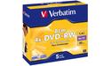 Verbatim DVD-RW 8cm 4x 5pk Jewel case