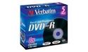 Verbatim DVD-R 8x 5pk Jewel case