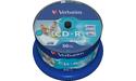 Verbatim CD-R 52x 50pk Printable Spindle