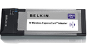 Belkin N Wireless ExpressCard Adapter