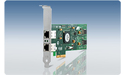 Allied Telesis PCI-X Dual Port Copper Gigabit Network Adapter Card