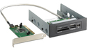 HP 16-in-1 Media Card Reader with PCI Card