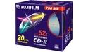 Fujifilm CD-R 52x 20pk Slim case
