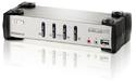 Aten 4-Port PS/2-USB VGA/Audio KVMP Switch with OSD