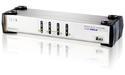 Aten 4-Port USB VGA Dual Display/Audio KVMP Switch