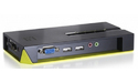 LevelOne 4-Port USB KVM Switch with Audio