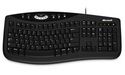Microsoft Comfort Curve Keyboard 2000 Black
