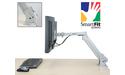 Kensington Premium Gas Monitor Arm SmartFit Silver