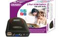 Eminent 2-port KVM Switch USB with Audio