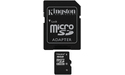 Kingston MicroSDHC 16GB Class 10 + Adapter