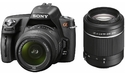 Sony Alpha A290 18-55 + 55-200 kit