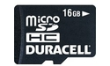 Duracell MicroSDHC Class 4 16GB
