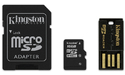 Kingston 16GB MicroSDHC Class 10 Mobility kit