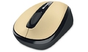 Microsoft Wireless Mobile Mouse 3500 Mac Gold Metal