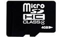 takeMS microSD Class 4 4GB