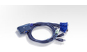 Aten 2-Port USB VGA/Audio Cable KVM Switch (1.8m)
