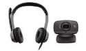 Logitech B530 USB Headset + B525 Webcam