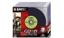 Emtec CD-R 52x 10pk Slim case