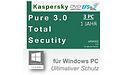 Kaspersky PURE 3.0 Total Security DE (Upgrade)