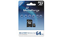 MediaRange MicroSDXC Class 10 64GB + Adapter