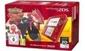 Nintendo 2DS Transparent Red + Pokémon Omega Rubin