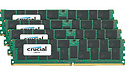 Crucial 128GB DDR4-2400 CL17 quad kit
