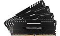 Corsair Vengeance Black-White LED 32GB DDR4-3000 CL15 quad kit