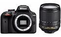 Nikon D3400 18-105 kit Black