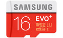 Samsung Evo+ MicroSDHC Class 10 16GB + adapter