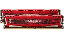 Crucial Ballistix Sport LT Red 16GB DDR4-2666 CL16 SR x8 kit