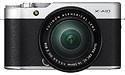 Fujifilm X-A10 16-50 kit Black