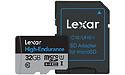 Lexar High Endurance MicroSDHC UHS-I 32GB + Adapter
