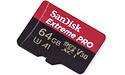 Sandisk Extreme Pro MicroSDXC A1 V30 UHS-I U3 64GB + Adapter