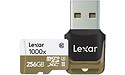 Lexar MicroSDXC 1000x UHS-II 256GB + USB Reader