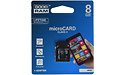 Goodram MicroSDHC Class 4 8GB + Adapter