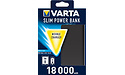 Varta Slim Powerbank 18000 Black
