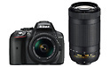 Nikon D5300 18-55 + 70-300 kit Black