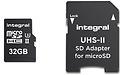 Integral MicroSDHC V90 UHS-II 32GB + Adapter