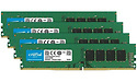 Crucial 32GB DDR4-2666 CL19 quad kit Udimm