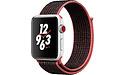 Apple Watch Series 3 Nike+ 42mm Aluminium Silver Sport Loop Black/Red
