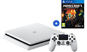 Sony PlayStation 4 Slim 500GB White + Minecraft