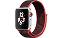 Apple Watch Nike+ OLED 38mm Silver Sport Band Red