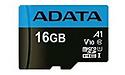 Adata MicroSDHC UHS-I 16GB Black/Blue