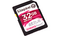 Kingston Canvas React SDHC UHS-I U3 32GB