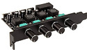 Lamptron CP436 4-Channel Fan Controller for PCI-Slot Black