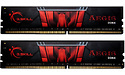 G.Skill Aegis Black/Red 32GB DDR4-3000 CL16 kit